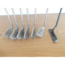 Lote De 7 Palos De Golf Fierros 4,6,7,8,9,w Plus1 #70