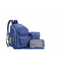 Pañalera Mochila Backpack 5 En 1 Soho Porta Toallas