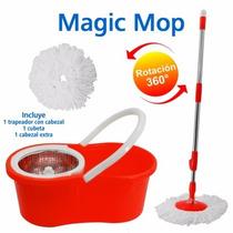 Spin Mop+meses Sin Intereses+regalo/trapeador Giratorio