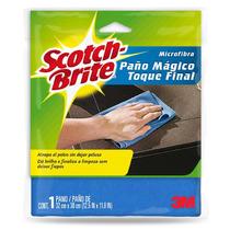 Paño Magico Limpieza Microfibra Toque Final Scotch Brite 3m