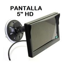 Pantalla Monitor 5 Plg. Hd Para Parabrisas Camara De Reversa