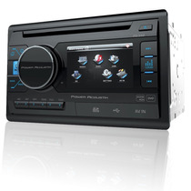 Autoestereo Power Acoustik Pd-342 2 Din Pantalla 3.4 Usb Dvd