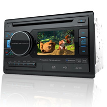 Autoestereo Pantalla 3.4 Power Acoustik Pd-342b Bluetooth Sd