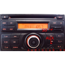 Estereo Original Nissan Versa March Tiida Sentra Sd Aux Mp3