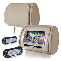 Cabecera Con Dvd Monitor Para Auto 7 Pulgadas Y Video Juegos