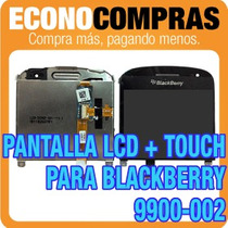 Pantalla Lcd + Touch Para Blackberry 9900-002 100% Nuevo