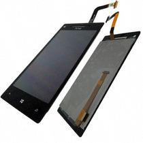 Lcd Y Touch Digitalizador Htc Windows Phone 8x C620e