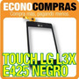 Touch Screen Para Lg L3x E425 Color Negro 100% Nuevo!!!!!!!!