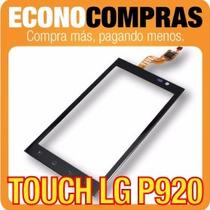 Pantalla Touch Para Lg P920 Color Negro 100% Nuevo!!!!!!!!!!