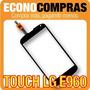 Pantalla Touch Para Lg E960 Color Negro 100% Nuevo!!!!!!!!!!