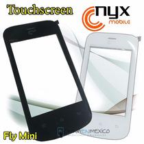 Touch Digitalizador Nyx Fly Mini Blanco Y Negro, Tactil Nuev