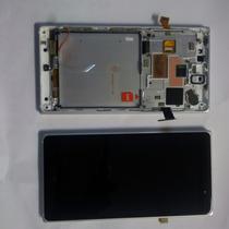 Pantalla Touch Nokia 830 Lumia Original Con Marco