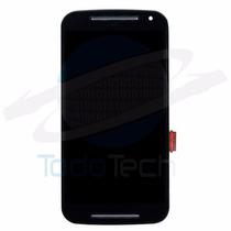 Pantalla Lcd + Touch Motorola Moto G2 Xt1063 Xt1064 C Marco