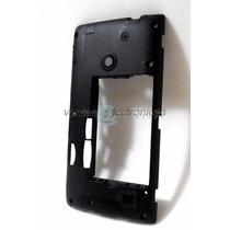 Carcasa Intermedia Para Nokia Lumia 520 Ipp3