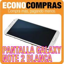 Pantalla Lcd Para Samsung Galaxy Note 2 Blanca 100% Nueva!!!