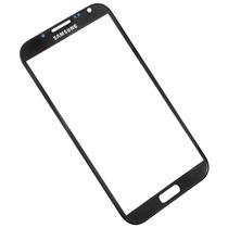 Samsung Galaxy Note 2 Refacción Cristal Negro Gorilla Glass!