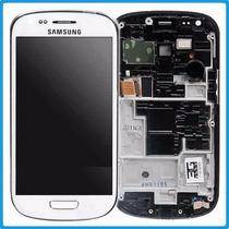 Lcd Y Touch Screen Samsung S3 Mini I8190 Display +kit+mica