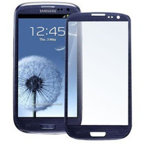 Cristal Frontal Galaxy S3 19300 Azul Peeble Original