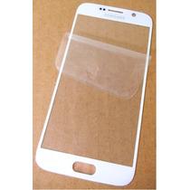 Samsung Galaxy S6 - Refacción Cristal Gorilla Glass Blanco !