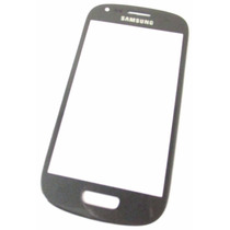 Samsung S3 Mini - Refacción Cristal Gorilla Glass Gris !!