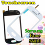 Touch Pantalla Tactil Samsung Fame S6810 Blanco Y Negro Nuev