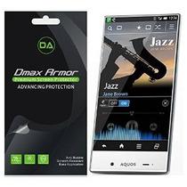 [6-pack] Dmax Armor- Sharp Aquos Cristal Antideslumbrante Y