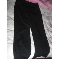 Pantalon De Vestir Negro Con Blanco The Limited T 12