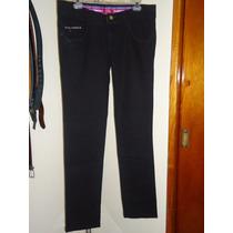 Pantalon D Mezclilla Skinny Union Bay Negro Dama 11-34