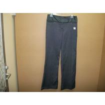 Pantalon De Vestir D Cuadritos Bcx P/dama 7-30 Bco C/negro