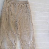Pantalón Pana Beige Niña Talla 4 O 48 Meses