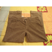Pantalon Casual Kaki Faded Glory P/dama Talla 12-38 Nuevo