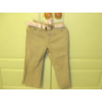 Pantalon Cherokee Verde Militar Talla 2t