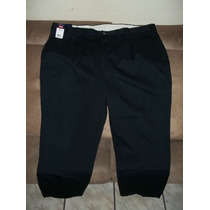 Pantalon 50x30 Amplio, Casual Negro Wrangler