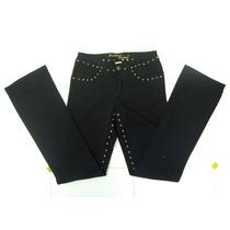 Pantalon Negro Formal Ropa Para Mujer Nuevo Moda Talla