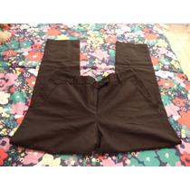 Pantalon De Vestir Negro Charter Club Para Dama Talla 14-40