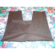 Pantalon D Vestir Negro Daisy Fuentes 100% Original 8-34 Nue