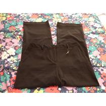 Pantalon Negro C/finas Rayas Merona P/dama Talla 12-38 Nuevo