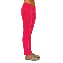 Pantalon Skinny Stretch Rumbo Color Rosa