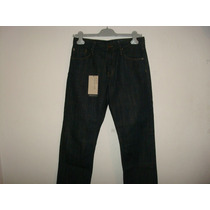 Burberry Brit Pantalon Cavendish #28 Azul Nuevo Original