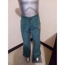 Pantalon De Pana Para Nena Como Nuevo Talla 10