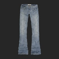Jeans Abercrombie Mujer