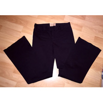 Pantalon Americano Buffalo Negro Mujer Algodon/ Spandex