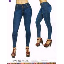 Jeans De Dama 970-43 Cklass