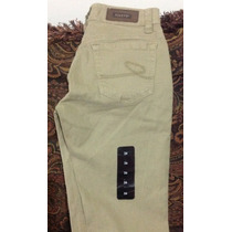 Jeans Pantalón Casual Skinny Caqui Foley