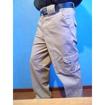 Pantalon De Gabardina Tipo Comando