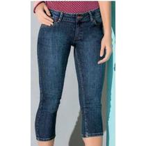 Pantalon Jeans Capri Semidescad Talla 3 5 7 9 11 13 1102963