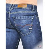 Jeans Caballero Corte Skinny Mezclilla Strech3 - Envíogratis