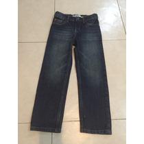 Pantalon Mezclilla Jeans Oshkosh Straight Recto Deslavado 6