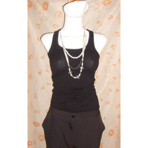 Nuevo No Limpia Closet Pantalon Negro Talla 4 Formal