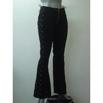 Pantalon Gotico Ropa Dark Goth Metal Punk Mujer